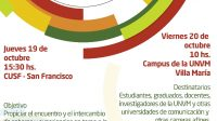 UNVM: Encuentro de cátedras de Comunicación, política y desarrollo