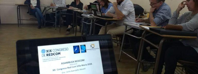 REDCOM crece y define agenda de trabajo para el 2018