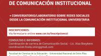 UNER: sede del Encuentro de cátedras de Comunicación institucional 2018
