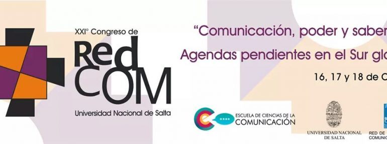 Primera circular del XXI° Congreso REDCOM