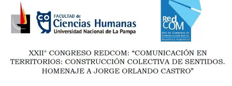 Cuarta circular del XXII Congreso REDCOM